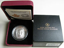 2014 Proof $25 Matriarch Moon Mask Ultra High Relief UHR .9999 silver Canada