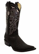 Men's Leather Cowboy Boots Bull Print SPECIAL PRICE $79.99 Style PR-Toro