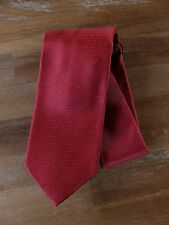 auth DRAKE'S Drakes of London red silk tie - NWOT
