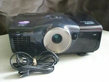 BENQ W6000 DLP 1080p PROJECTOR, 2500 LUMENS!! NEW FACTORY LAMP INSTALLED!!