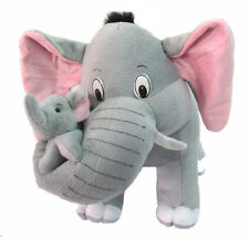 Tickles Grey Mother Elephant with her Baby Stuffed Soft Plush Toy 32 cm ST003