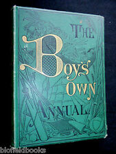 The Boy's Own Annual Volume 7 - 1884/85-1st, inc Jules Verne 'Star of the South'