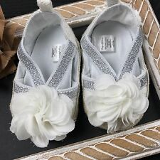 Infant Newborn Baby Girl Shoes Size 3-6 Months Spring Summer Cute Slip On