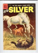 Dell The Lone Ranger Famous Horse HI-YO SILVER #19 July-Sept 1956 vintage comic