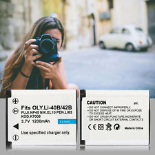 Rechargeable Camcorders Battery 1200mah For OLYMPUS Camera For Li-40B/42B-S WS