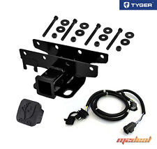 Custom Fit 07-16 Wrangler JK TYGER Towing Kit: Receiver Hitch & Wiring & Cover