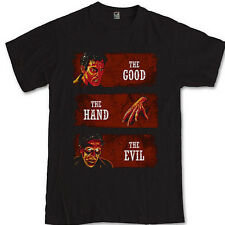 Ash vs Evil Dead tee The Good The Hand The Evil tv series S M L XL 2-3XL T-Shirt