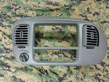 1997-2003 ford f150 Expedition dash radio trim bezel with vents oem grey 4x4