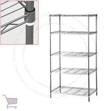 5 niveles de acero de alta resistencia Cocina Garaje Estantes De Almacenamiento Estante UKES