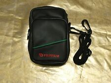 "NEW FUJI FUJIFIM PADDED CASE 6X31/2X21/2"" with OUTSIDE POCKET BELT LOOP STRAP"