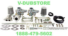 EMPI 47-7411 EPC DUAL 34 CARBURETOR KIT VW DUNE BUGGY BUG GHIA THING TRIKE BAJA