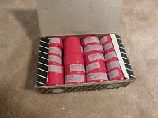 "Vintage 1960's - NOS - ""GEM"" Plastic Bar Tape - Opaque Red"