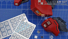 AW-037 Gundam & Weapon Model Detail Thruster Builders Parts Photo Etch Add on