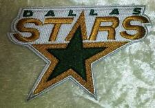 "Dallas Stars NHL Logo 3.5"" Iron On Embroidered Patch ~USA Seller~"