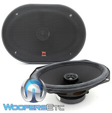 """MOREL 69C MAXIMO 6x9"""" COAXIAL 2 WAY SOFT DOME TWEETERS PRO CAR SPEAKERS NEW"""