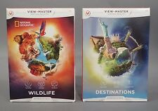 View-Master Destinations & Wildlife VR Experience Pack | National Geographic NEW