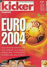 Magazin kicker Sonderheft - EM,Europameisterschaft 2004,Portugal,mit Poster!