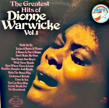 ++DIONNE WARWICKE greatest hits vol 1 LP 1972 HALLMARK UK walk on by VG++