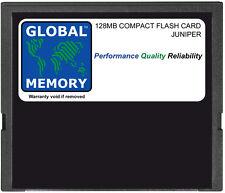 128MB compact flash carte mémoire pour JUNIPER J2300/J4300/J6300 (JX-CF-128M-S)
