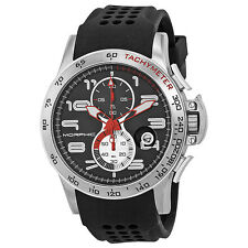 Morphic M4 Series Steel Black Silicone Mens Watch 0401