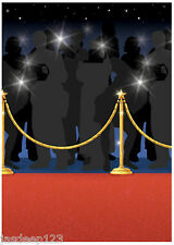 50ft Hollywood Red Carpet ROLL Festa Scena Setter Star Notte Oscar muro RUNNER