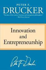 Innovation and Entrepreneurship by Peter F. Drucker, (Paperback), HarperBusiness