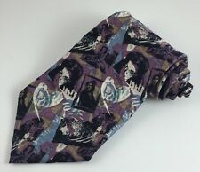 Gone with the Wind Classic Men's Neck Tie Silk Novelty Characters Directions