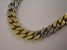 wunderschönes  Armband  massiv Gold 585 - reine Handarbeit