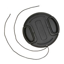 62 mm Center Pinch Lens Cap Lens Cover with Lease for Canon Nikon