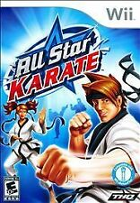 All Star Karate - Nintendo  Wii Game Complete
