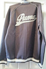 New Puma Script Track Long Sleeve Jacket 2016 GREY  SIZE MED Rudolf Dassler