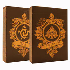 Arcanum Playing Cards Black Edition - Rare Collectable Card Deck - Poker Size