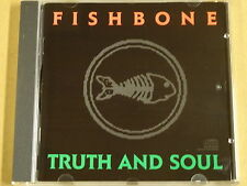 CD / FISHBONE - TRUTH AND SOUL