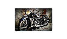 1938 velocette gtp Bike Motorcycle A4 Retro Metal Sign Aluminium