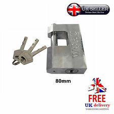 90mm Heavy-Duty Lock Padlock Anti-Theft Security Sheds Gates Doors