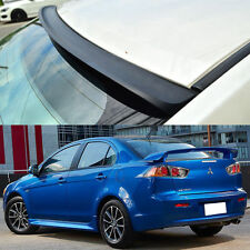 FOR Mitsubishi LANCER EVOLUTION X Rear Roof Window Spoiler Unpainted 2015 ◣