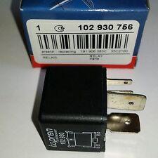 VW SHARAN/VENTO FUEL PUMP RELAY 4 PIN 40 AMP 191906383 OR 857951253