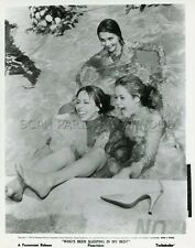 ELIZABETH MONTGOMERY JILL ST. JOHN WHO'S BEEN SLEEPING IN MY BED VINTAGE PHOTO