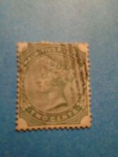 Mauritius. QV 1885 2c Green. SG103. P14. Wmk Crown CA. Used.