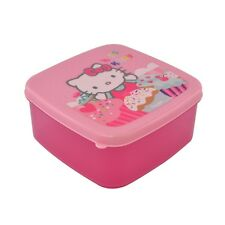 Hello Kitty - Pink Cupcakes Sandwich Container Lunch Box