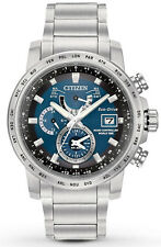 Citizen AT9070-51L Men's Eco Drive World Time Perpetual Calendar A-T Watch