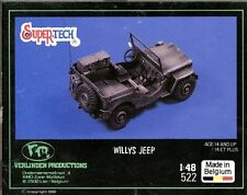 Verlinden 1:48 Willys Jeep - Resin PE Full Model Kit #522