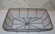 "Wire Kitchen Bread Fruit Basket  - 10"" x 7"""