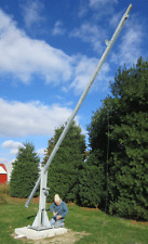Build a 25'-50' free standing Tilt then Crank up tower (wind turbine or antenna)