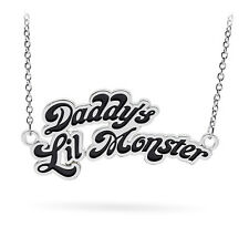 COLLANA HARLEY QUINN DADDY'S LIL MONSTER SUICIDE SQUAD NECKLACE COSPLAY CINEMA 1