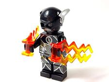 Custom Minifigure DC Superhero The Flash ZOOM #2 with free LEGO brick.UK