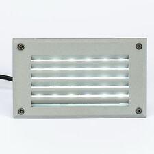 TULO H 2W LED Wandeinbauleuchte Wandeinbaustrahler Rostfrei BAD Einbauleuchte