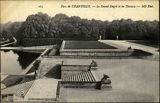 Chantilly France picardie ~ 1910 le grand degré et la terrasse parc park ND photo