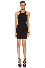 IRO CHARLIE RUCHED HALTER DRESS FR 38 UK 8