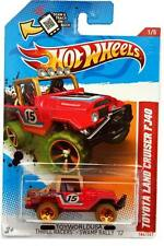 2012 Hot Wheels #186 Thrill Racers - Swamp Rally Toyota Land Cruiser FJ40
